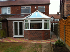 Rear Extension with Conservatory style bay