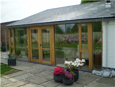 Glass Fronted Garden Room