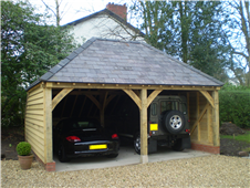 Oak Frame Garage